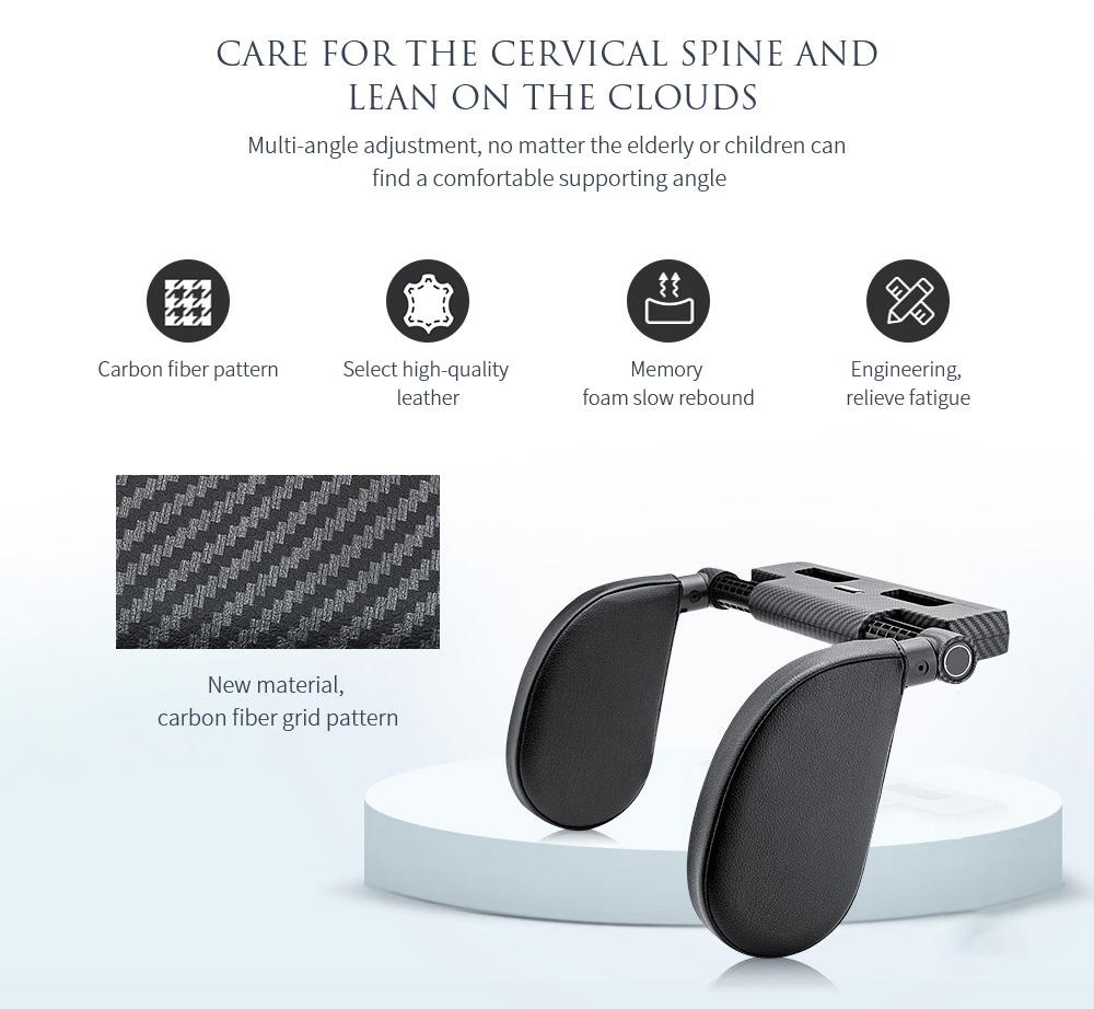 A03 Car Cushion Pillow Care for the cervical spine and lean on the clouds