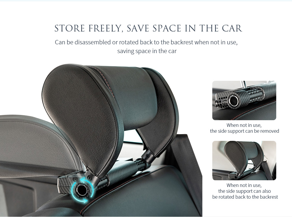 A03 Car Cushion Pillow Store freely, save space in the car