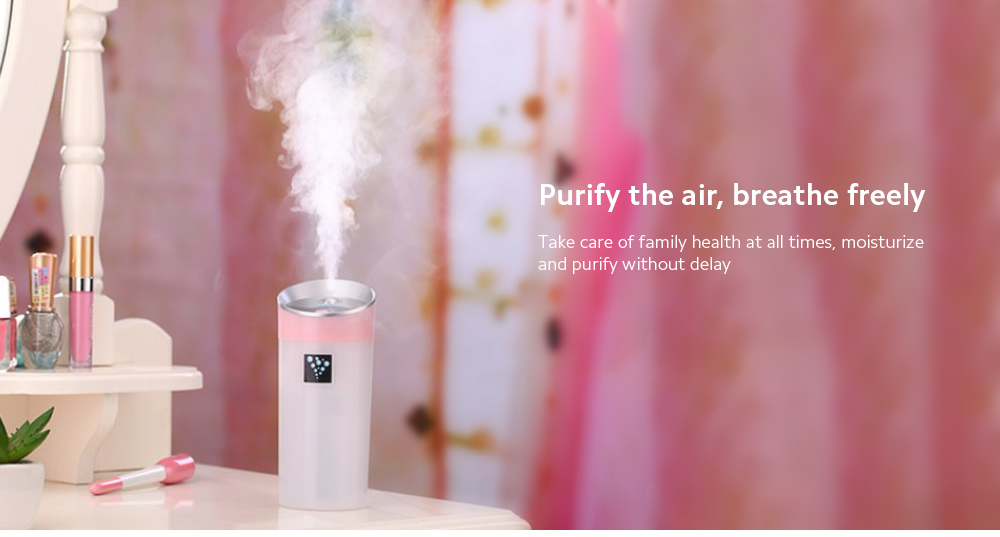 Negative Ion Aromatherapy Air Purifier Purify the air, breathe freely