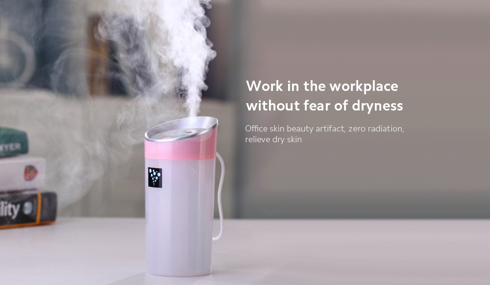 Negative Ion Aromatherapy Air Purifier Work in the workplace without fear of dryness