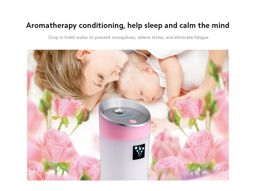 Negative Ion Aromatherapy Air Purifier Aromatherapy conditioning, help sleep and calm the mind
