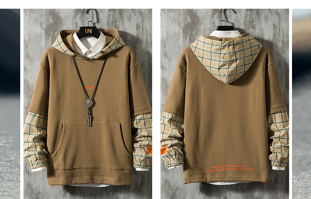Hooded Large Size Loose Sweater