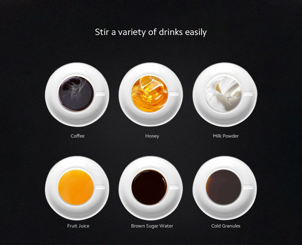 Temperature Difference Automatic Mixing Cup Stir a variety of drinks easily