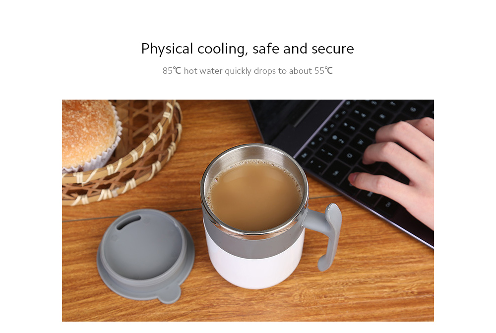 Temperature Difference Automatic Mixing Cup Physical cooling, safe and secure