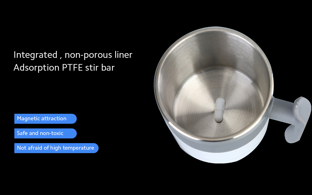 Temperature Difference Automatic Mixing Cup Integrated, non-porous liner