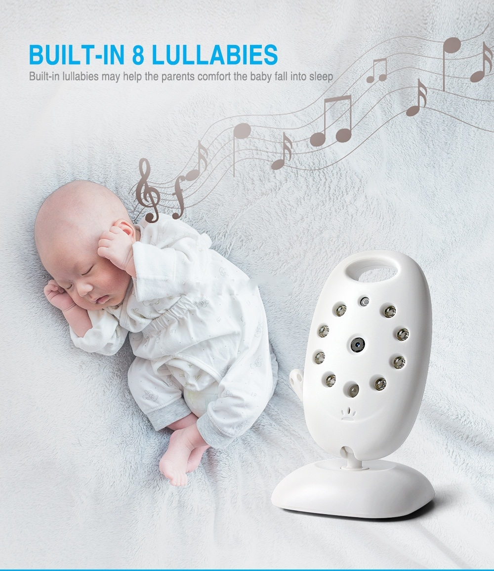 Baby Wireless Monitor - White EU Plug