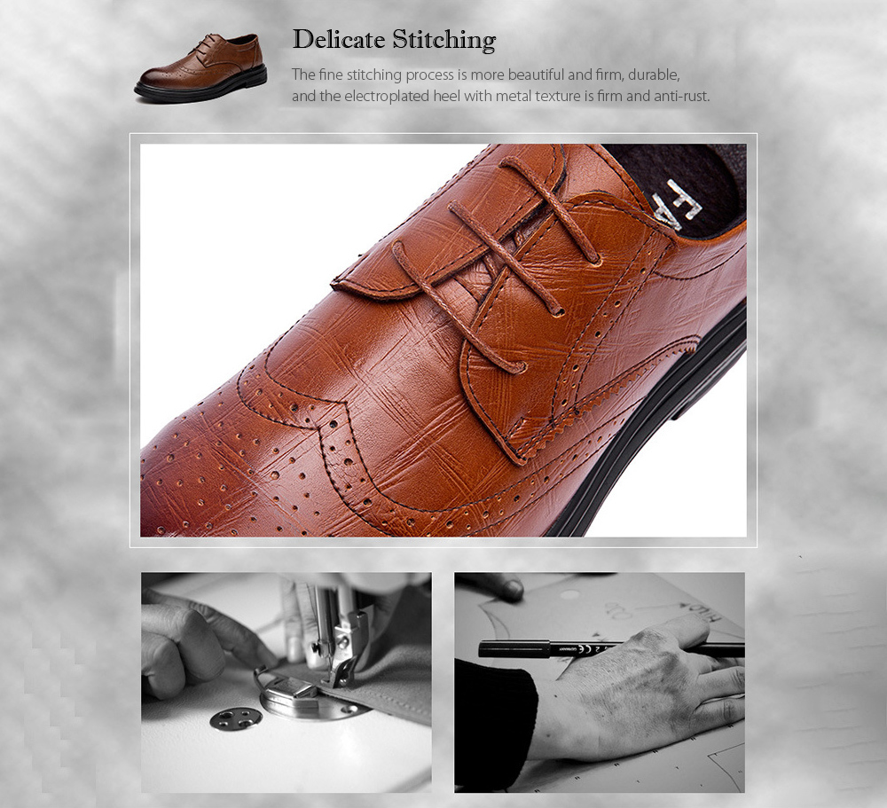 Young Men's Shoes Stitching