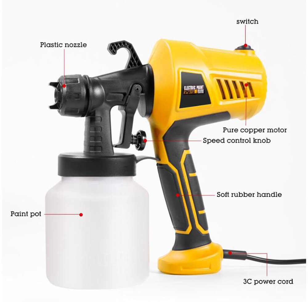 Gocomma Spray Gun - Multi-A EU Plug