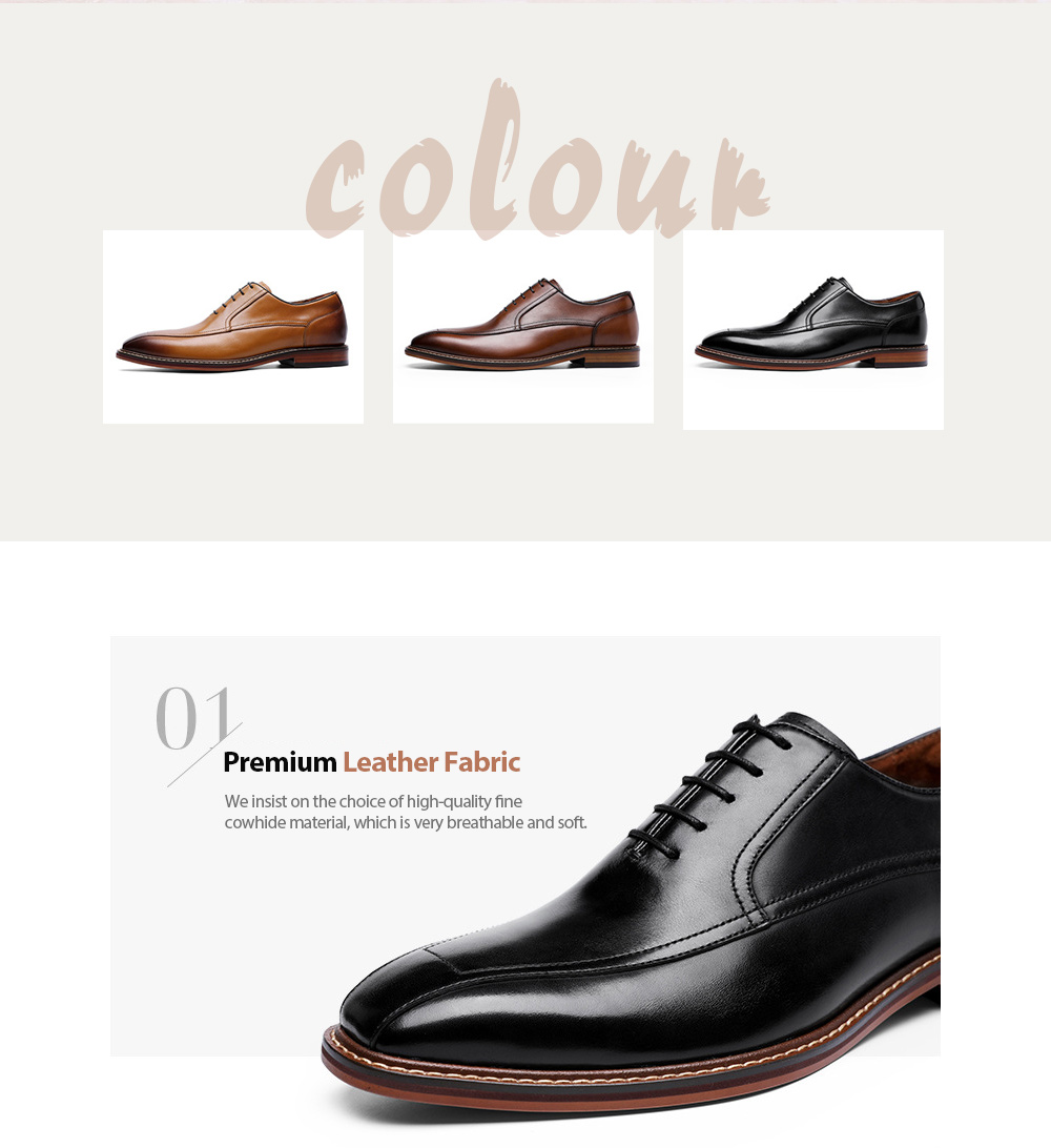 Men's Leather Shoes Fabric
