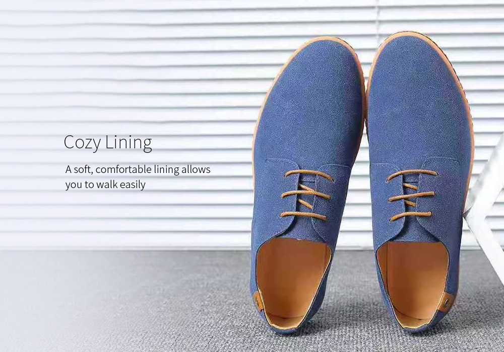 Large Size Casual Men's Shoes Lining