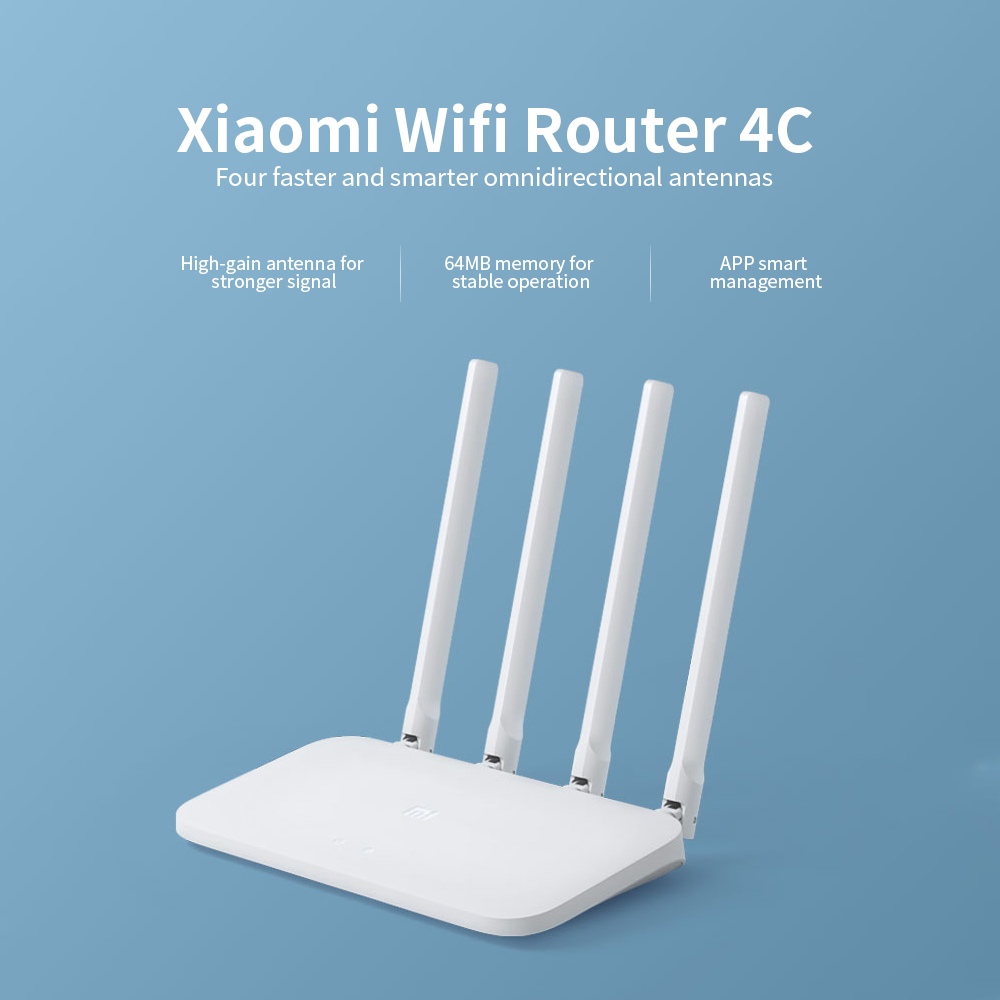 Xiaomi Mi Wireless Router 4C - Milk White