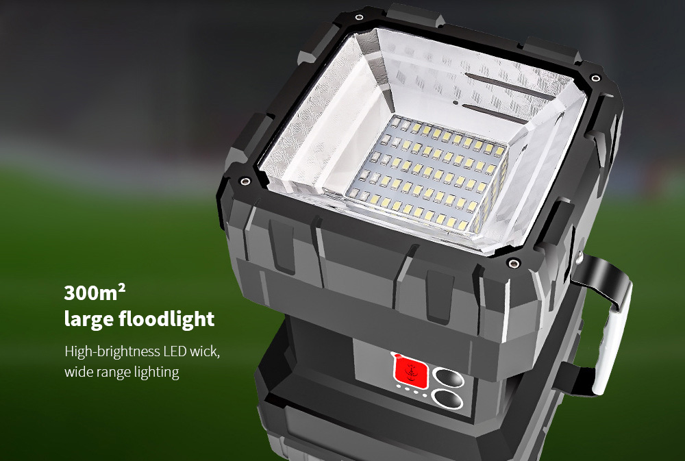 Flashlight Chargeable Super Bright Long Range 300m² large floodlight