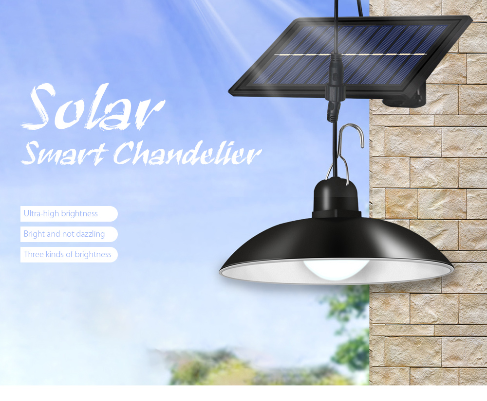 Garden Light Smart Solar Chandelier