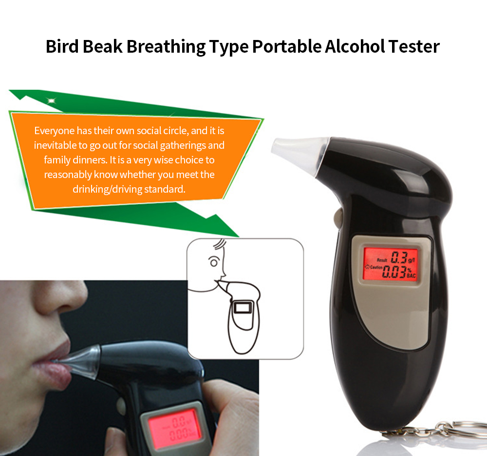AD3000 Alcohol Tester