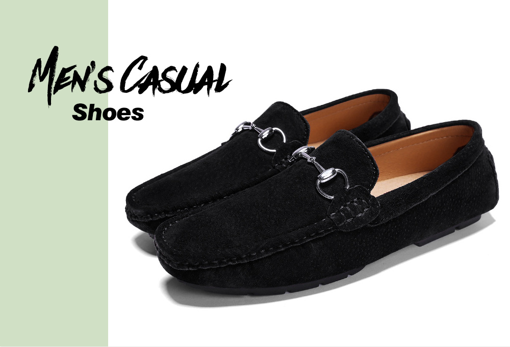 Two-layer Pigskin Men's Shoes