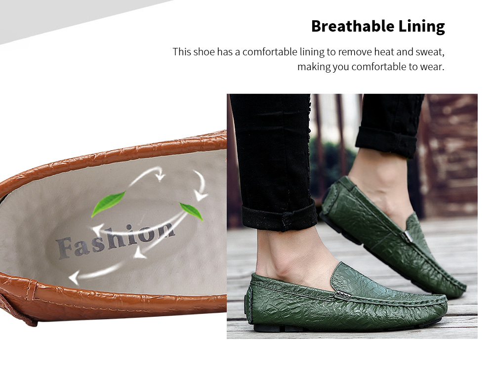 Summer Breathable Peas Shoes Lining