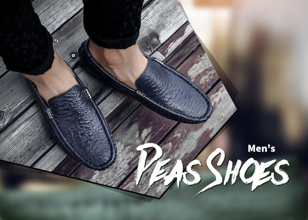 Summer Breathable Peas Shoes
