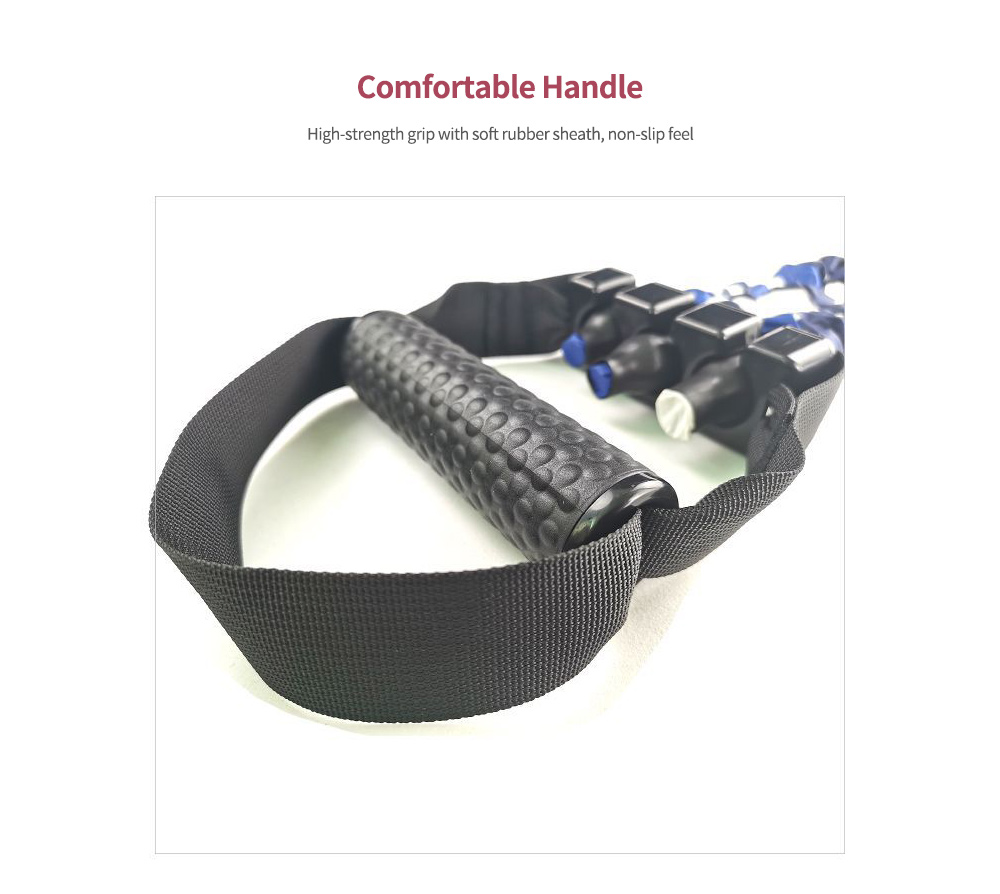 Three-hole Tension Adjustment Resistance Band  Handle