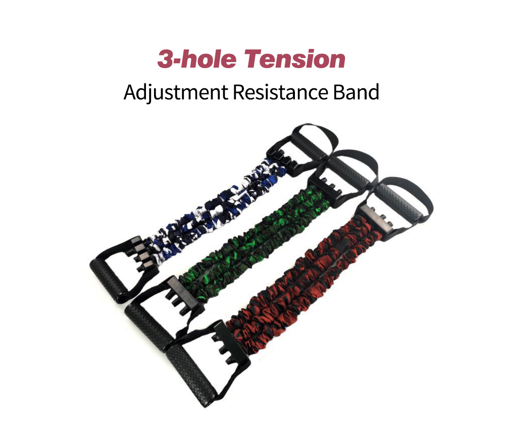 Three-hole Tension Adjustment Resistance Band