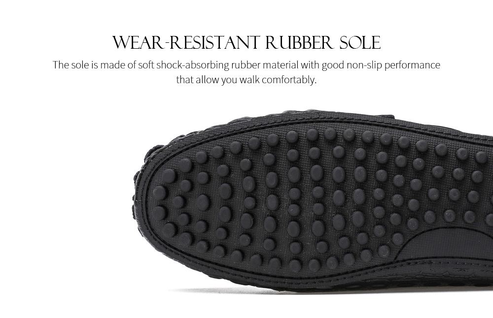 Spring and Summer Men Leather Casual Shoes Sole
