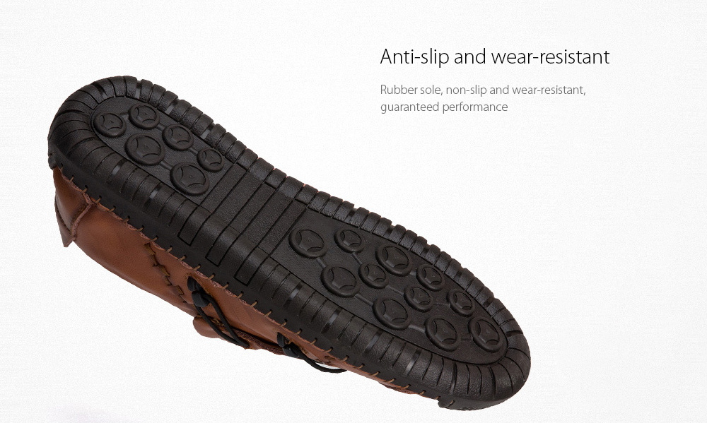 Men's Casual Leather Shoes Anti-slip and wear-resistant