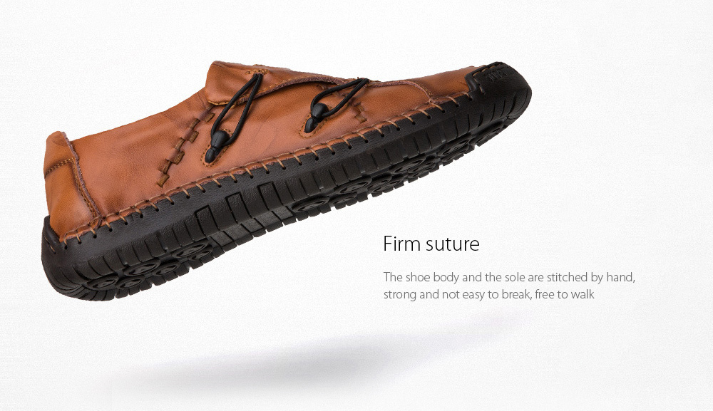 Men's Casual Leather Shoes Firm suture
