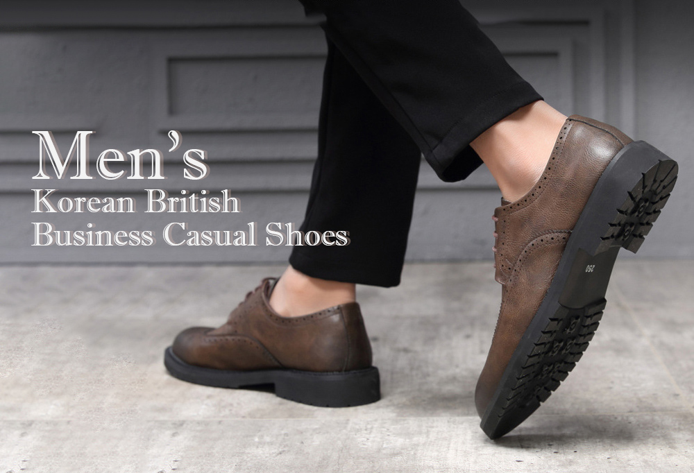Autumn Carved Brogue Shoes