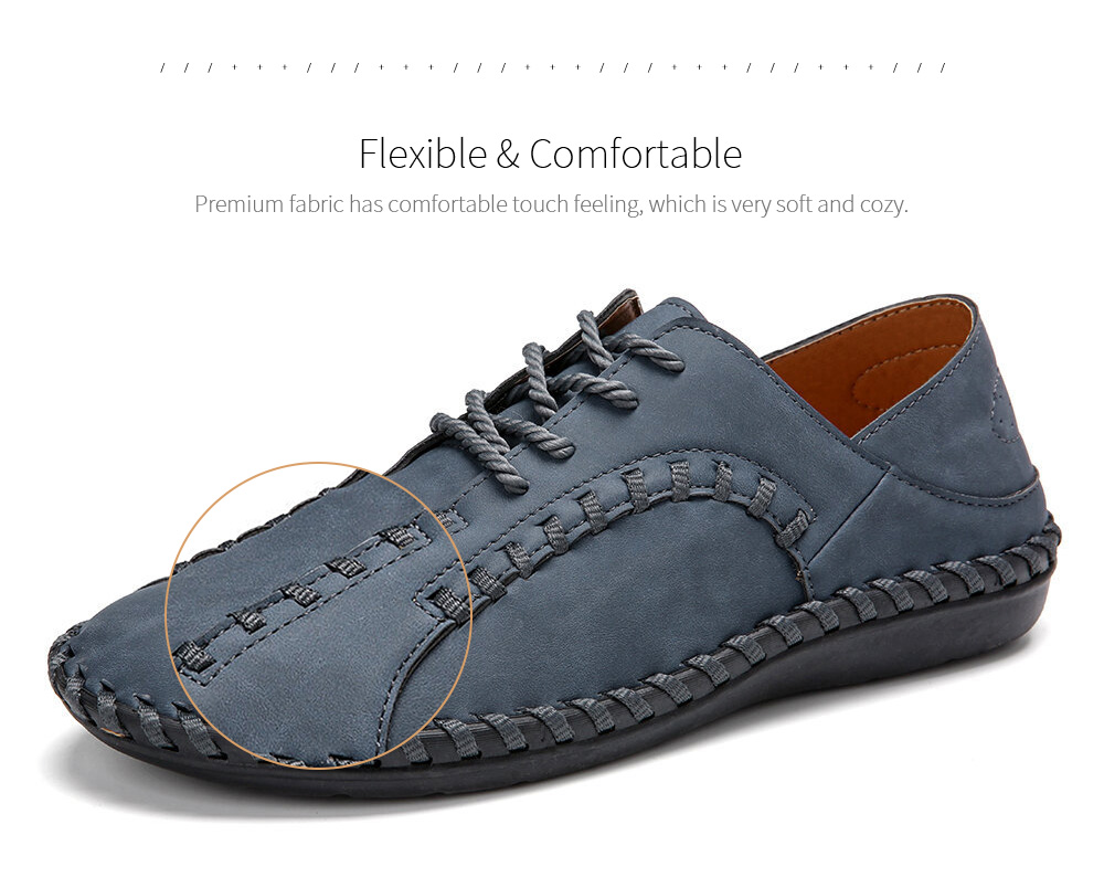 Wide Version Casual Men's Shoes Fabric
