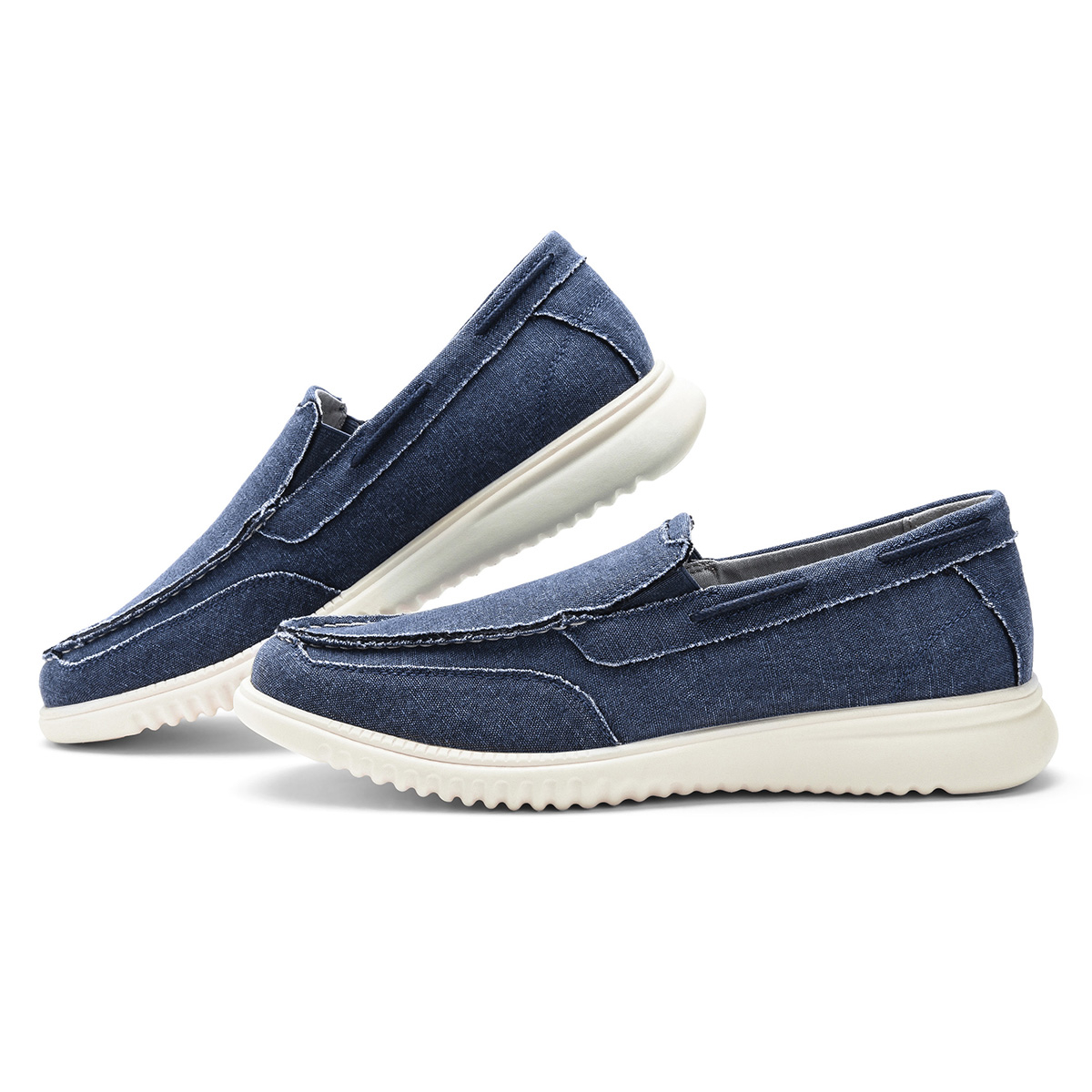 GM Golaiman G3416 Flat Shoes Men Comfortable High Quality Materials Fashion - Blue US 11