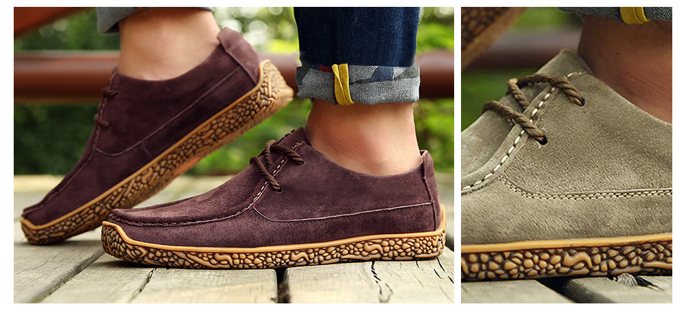 Spring And Autumn Men's Casual Leather Shoes