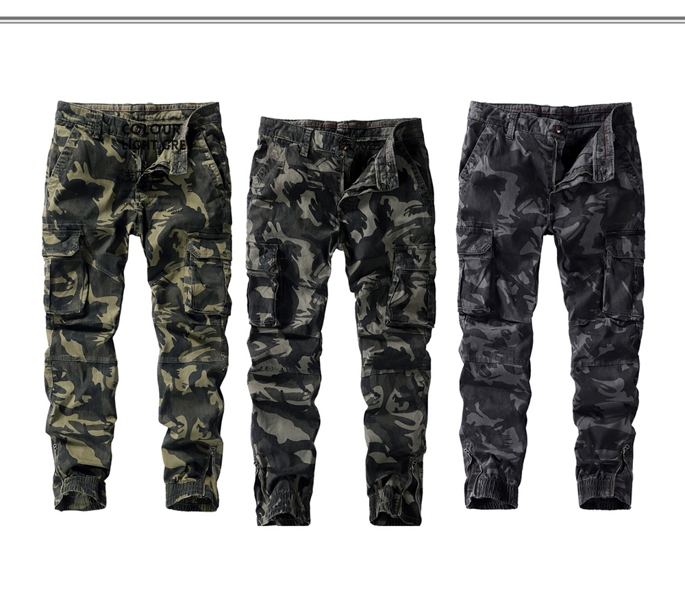 Fall Men's Casual Camouflage Pants