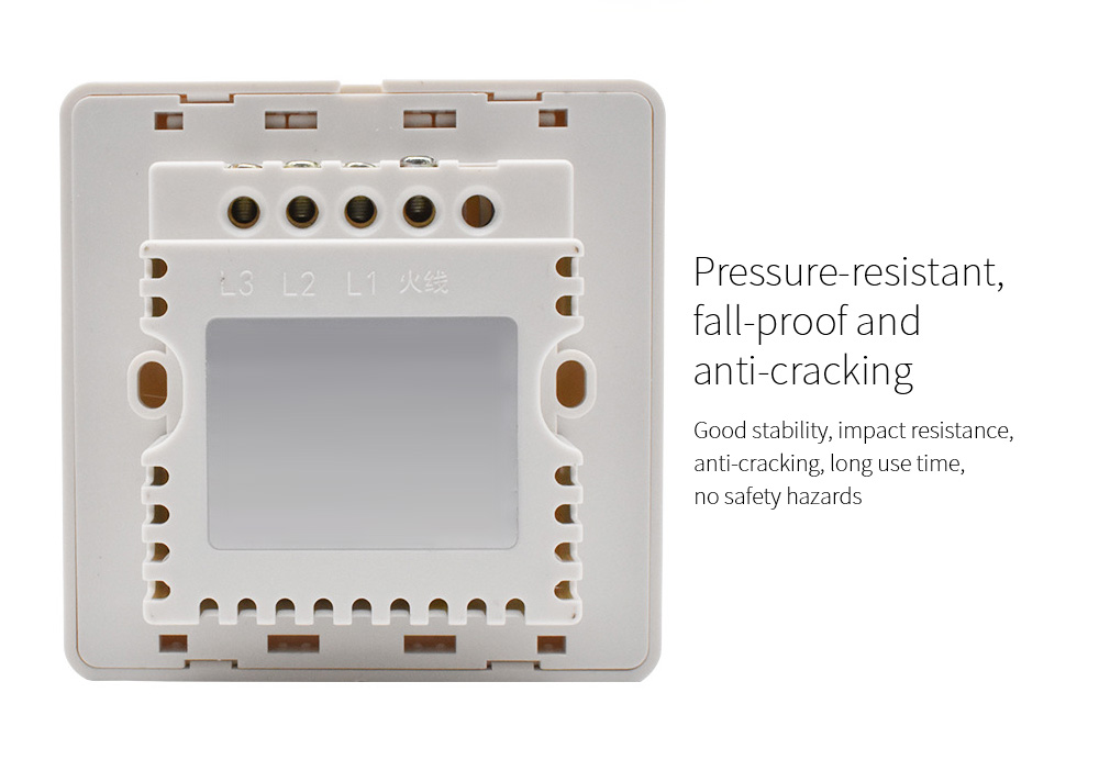 Wiring-free Smart Wireless Remote Control Switch Pressure-resistant, fall-proof and anti-cracking