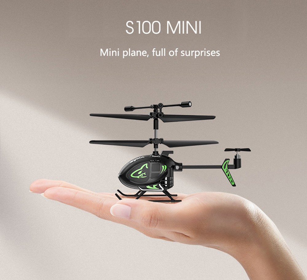 S100 Helicopter Toy - Black