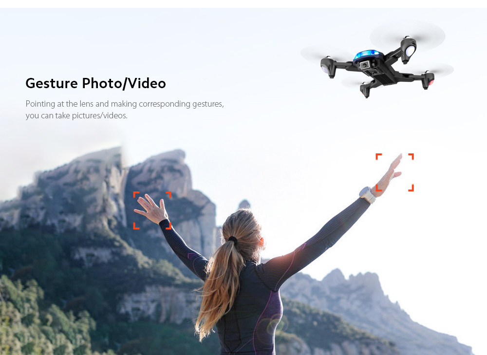 GP1 Drone HD 6K Professional Aerial Photography Remote Control Aircraft - 6K Double Camera With Electric Ton Gesture Photo/Video
