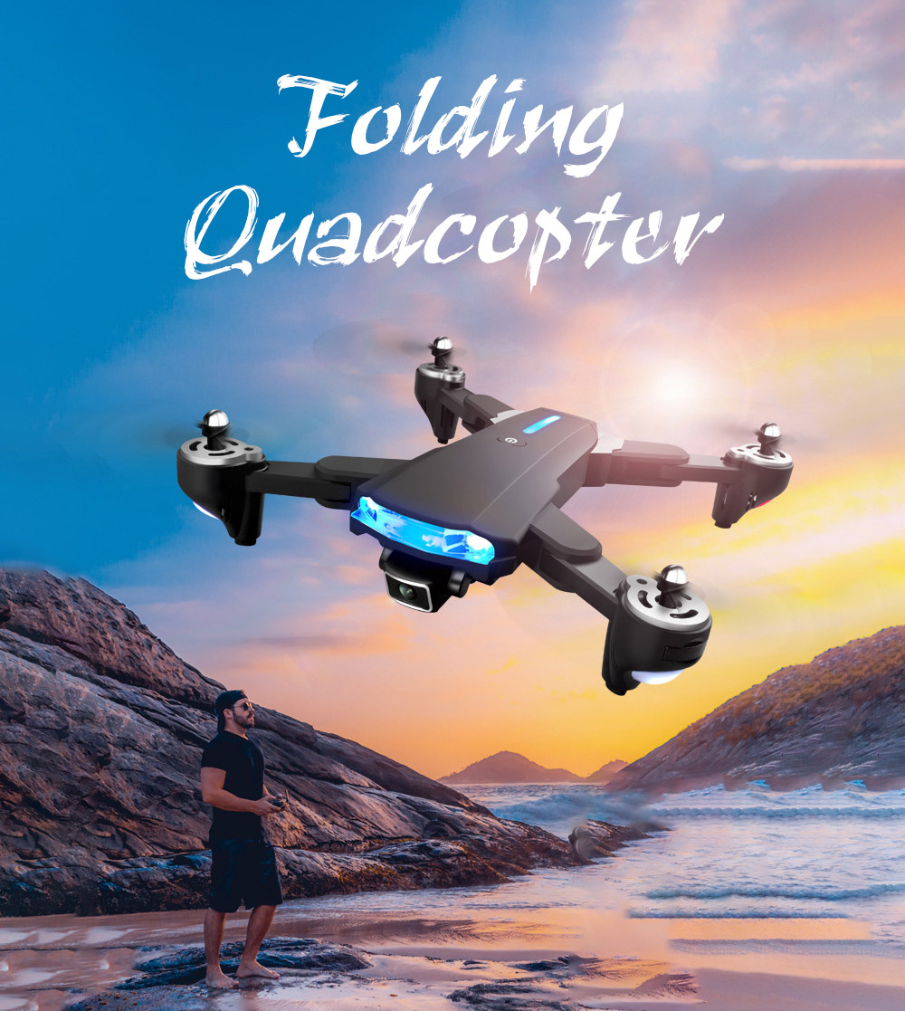 GP1 Drone HD 6K Professional Aerial Photography Remote Control Aircraft - 6K Double Camera With Electric Ton Folding Quadcopter