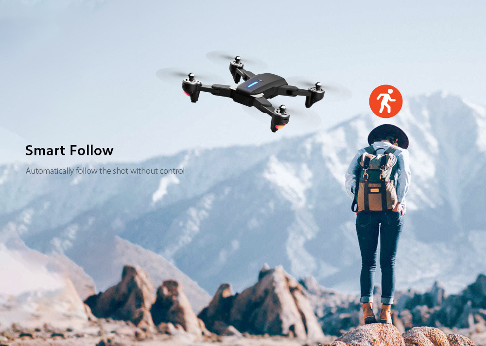 GP1 Drone HD 6K Professional Aerial Photography Remote Control Aircraft - 6K Double Camera With Electric Ton Smart Follow