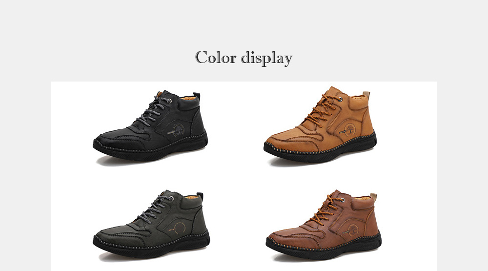 Men's Casual Leather Shoes color