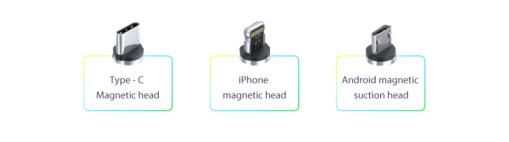 V3S Car Wireless Magnetic Charging Mobile Phone Bracket Universal Induction Opening and Closing - Black Three magnetic head