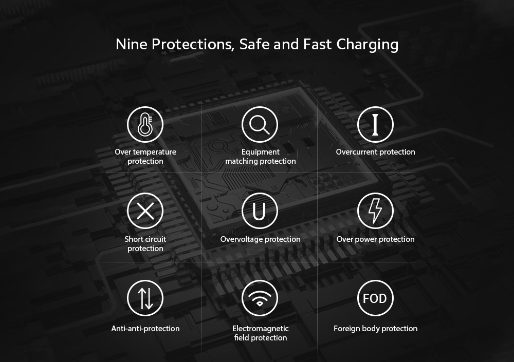 V30S Car Mobile Phone Holder Universal Wireless Charger Bracket - Red Nine Protections, Safe and Fast Charging