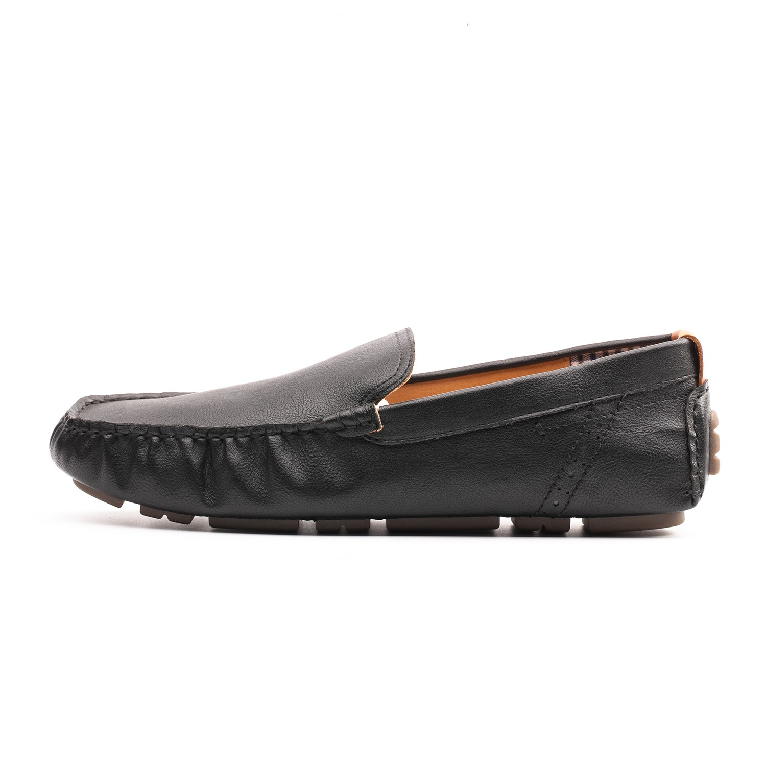 Omine M19001 Men Casual Flat Bean Shoes - Gray US 13