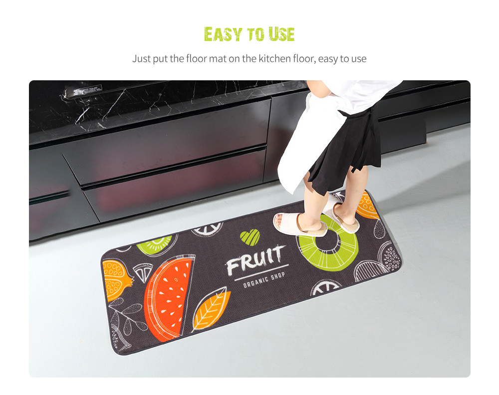 Kitchen Floor Mat Easy to Use