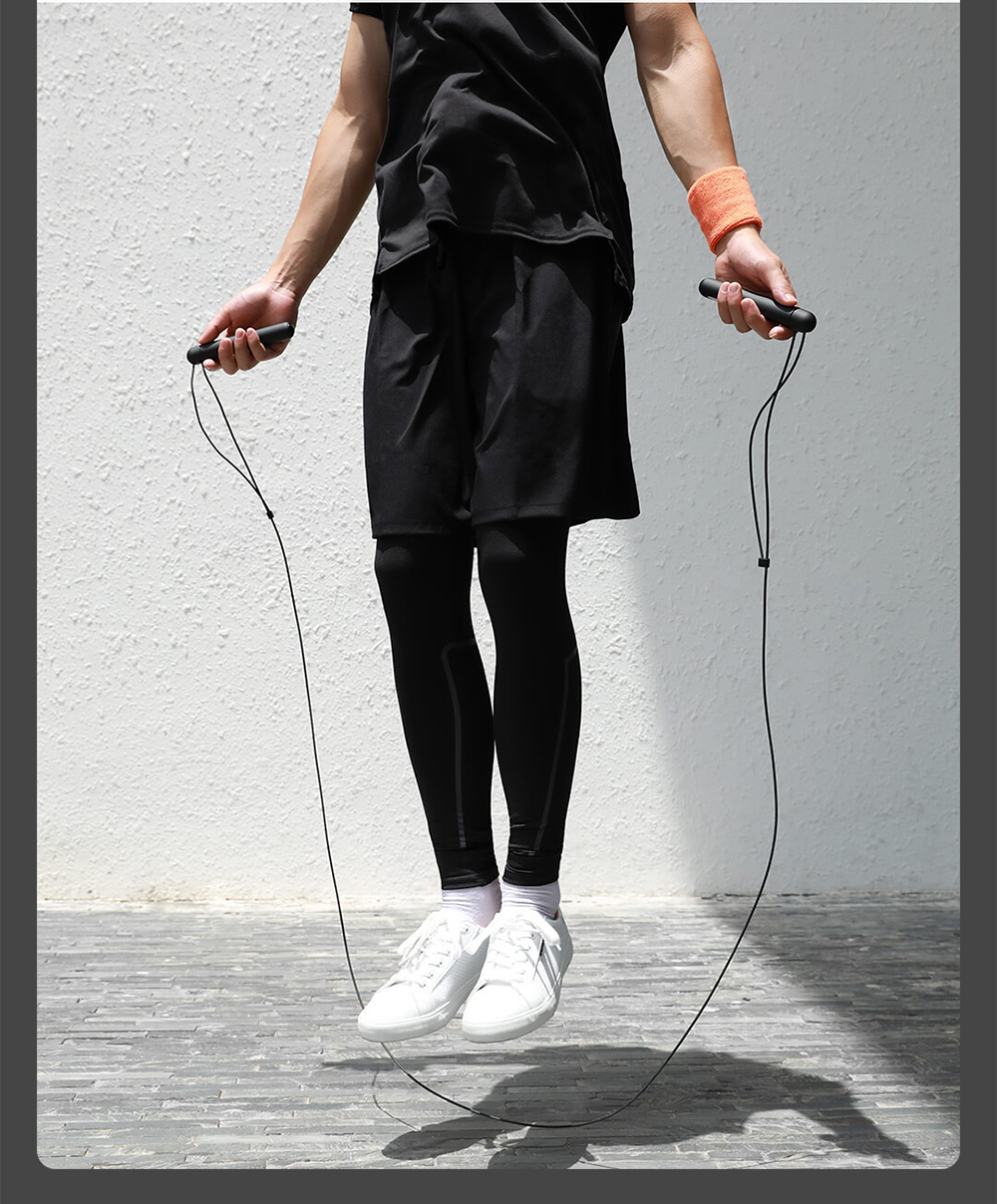 Smart Training Skipping Rope from Youpin - Black Calorie Consumption Comparison