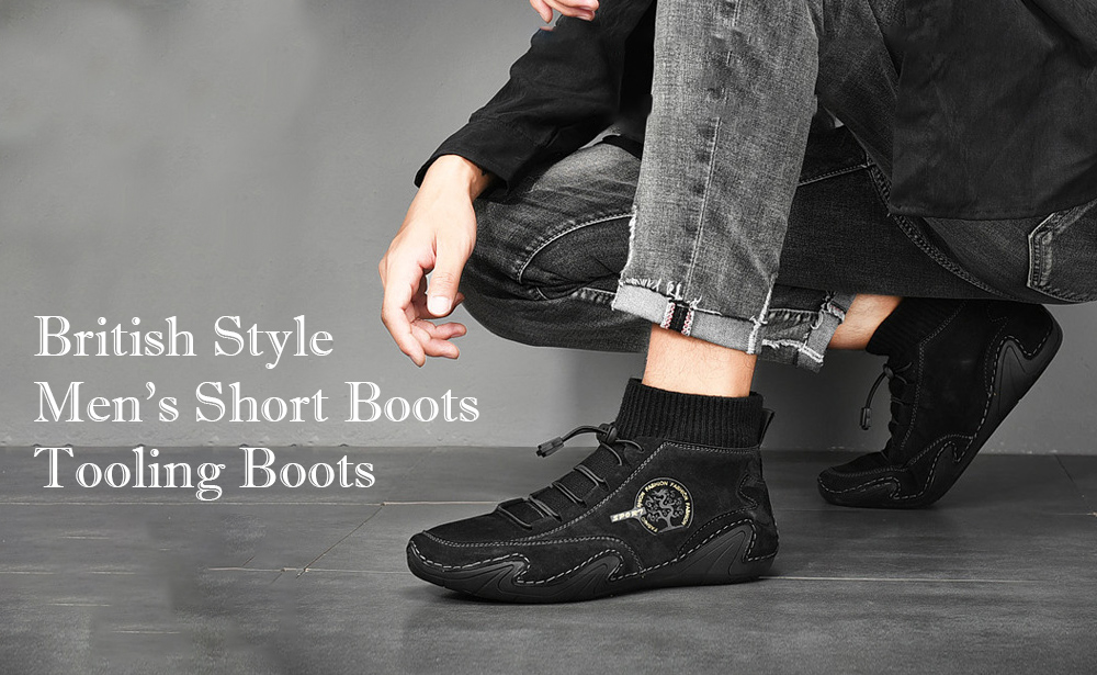 Men's Breathable Boots