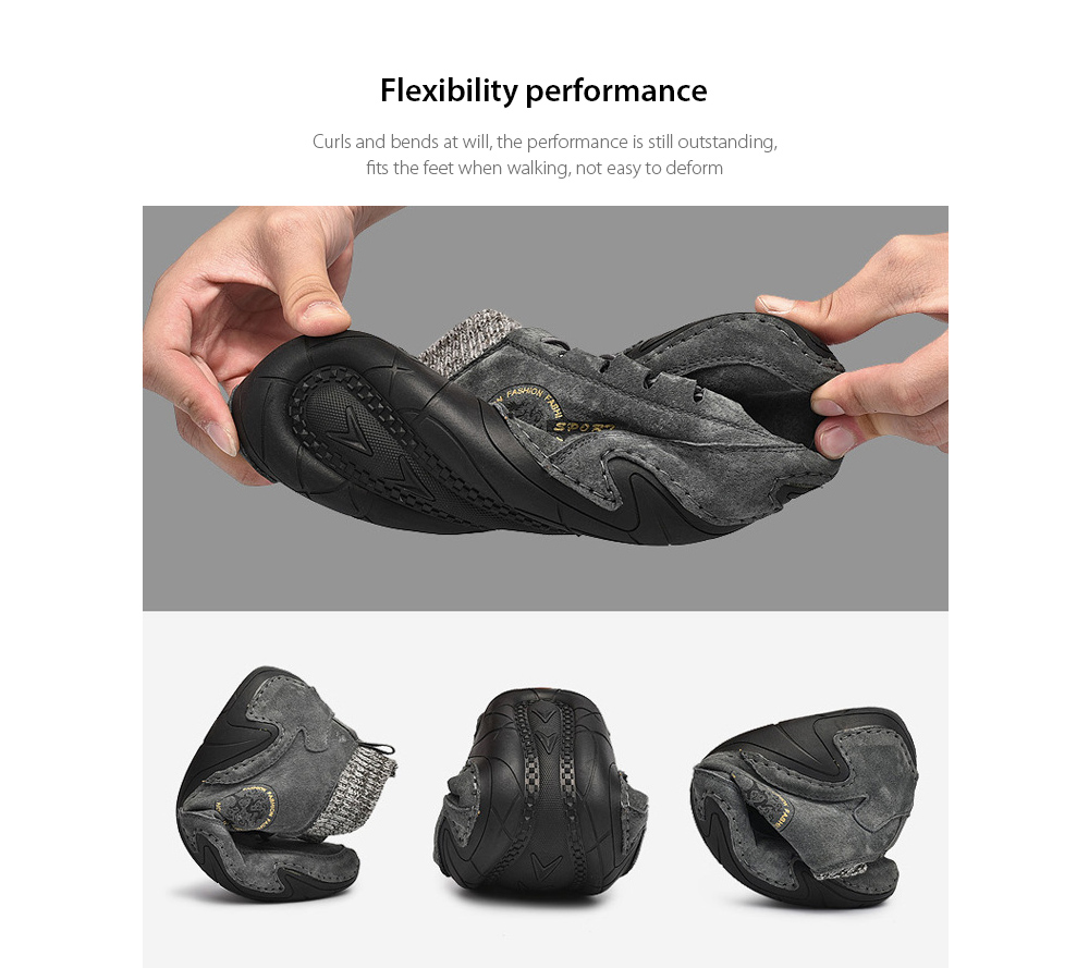 Men's Breathable Boots Flexibility performance