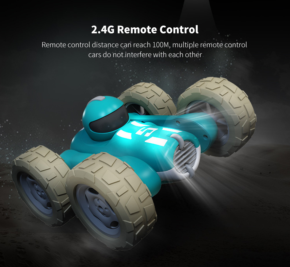 Double-sided Roll-up Car, Remote Control Car