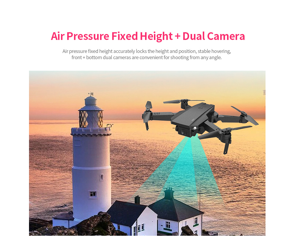 Folding Drone High-definition Flight 4K Aircraft Double Camera