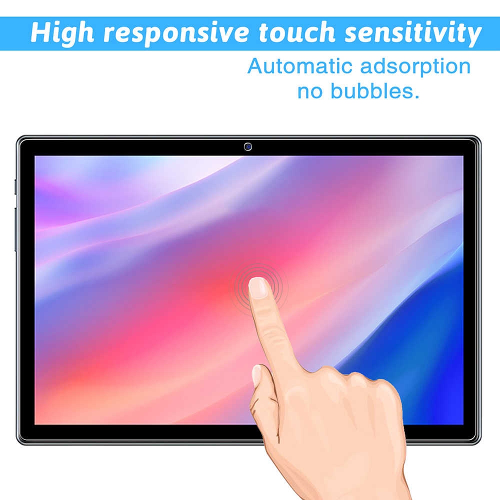 ASLING Screen Protector 0.3mm 9H Flat Transparent Tempered Film Suitable for TECLAST P20HD / M40 2PCS - Transparent