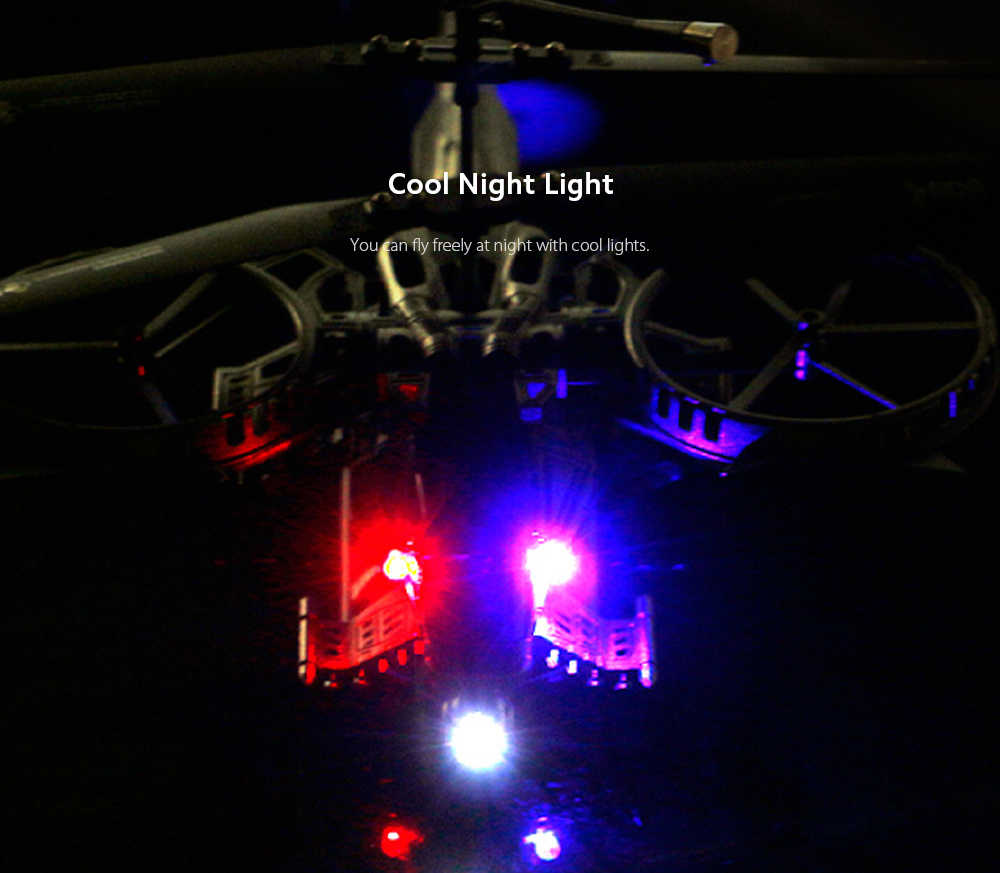Super Helicopter Night Light