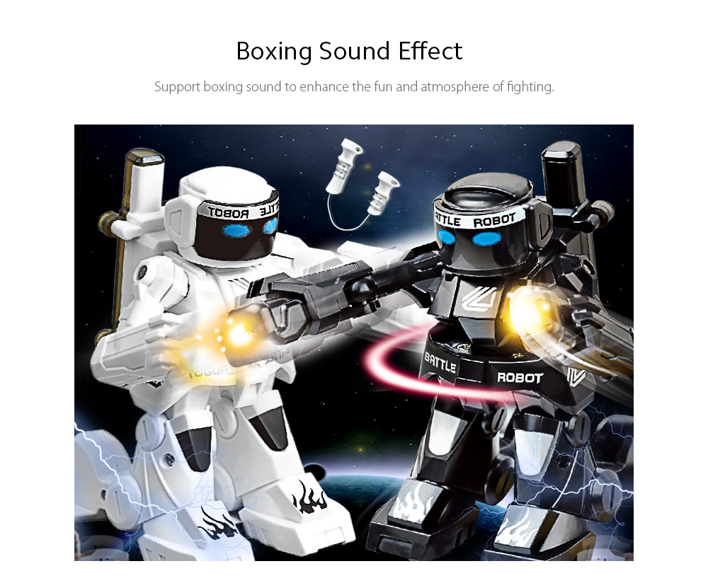 2.4G Sports Remote Control Boxing Robot Sound Effect