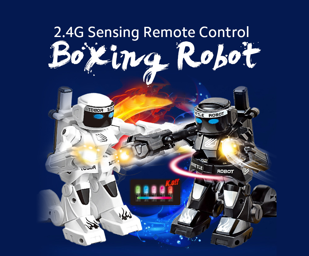 2.4G Sports Remote Control Boxing Robot